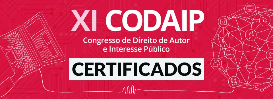 Read more about the article Certificados do XI CODAIP já estão disponíveis no site