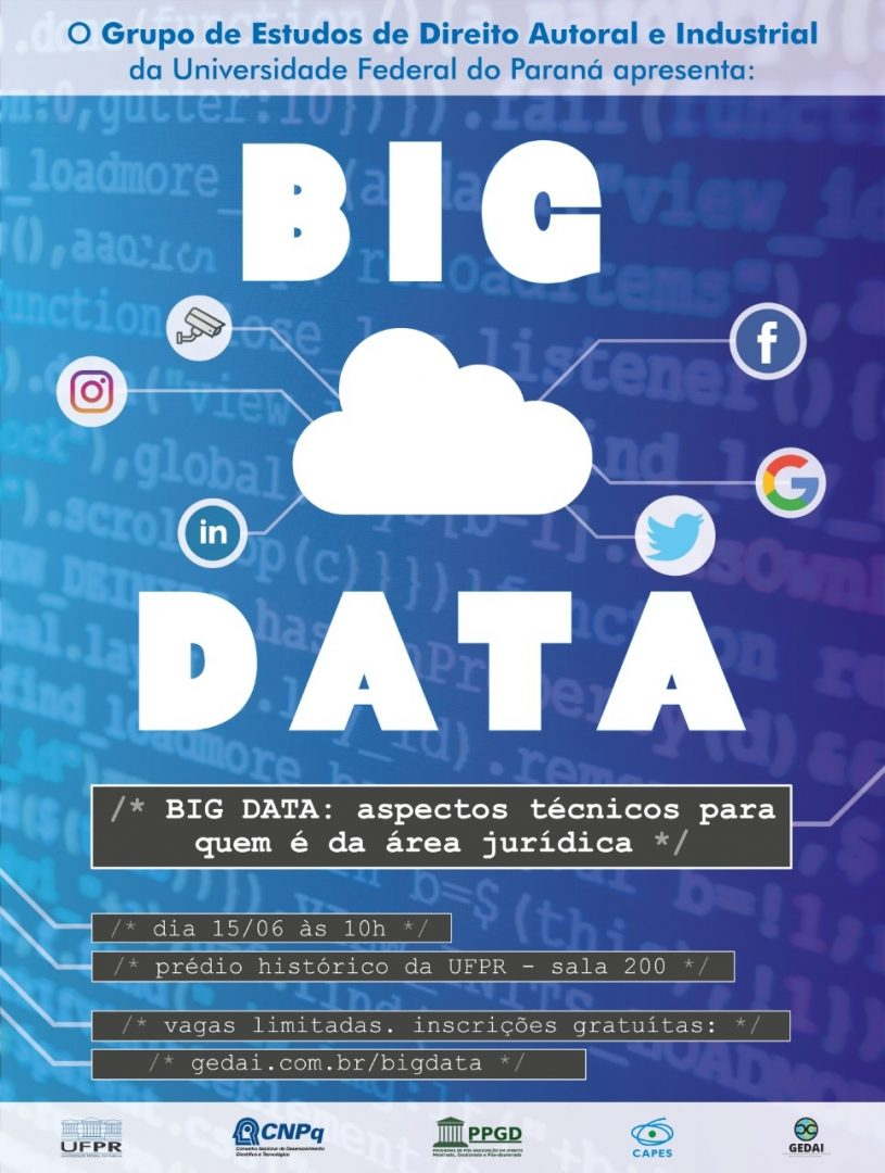 Read more about the article Seminário de Big Data para a área jurídica